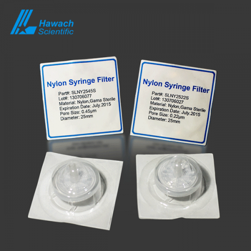 Nylon Stelie Syringe Filters