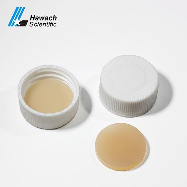 Septa And Cap For Screw Thread HPLC Sample Vials