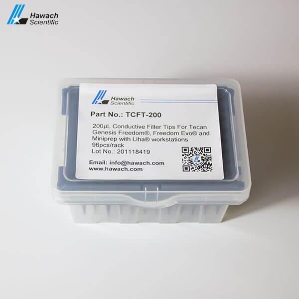 200μl conductive filter automation tips